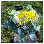 bouquet de fleur fête des grands mères azur roses la crau toulon var