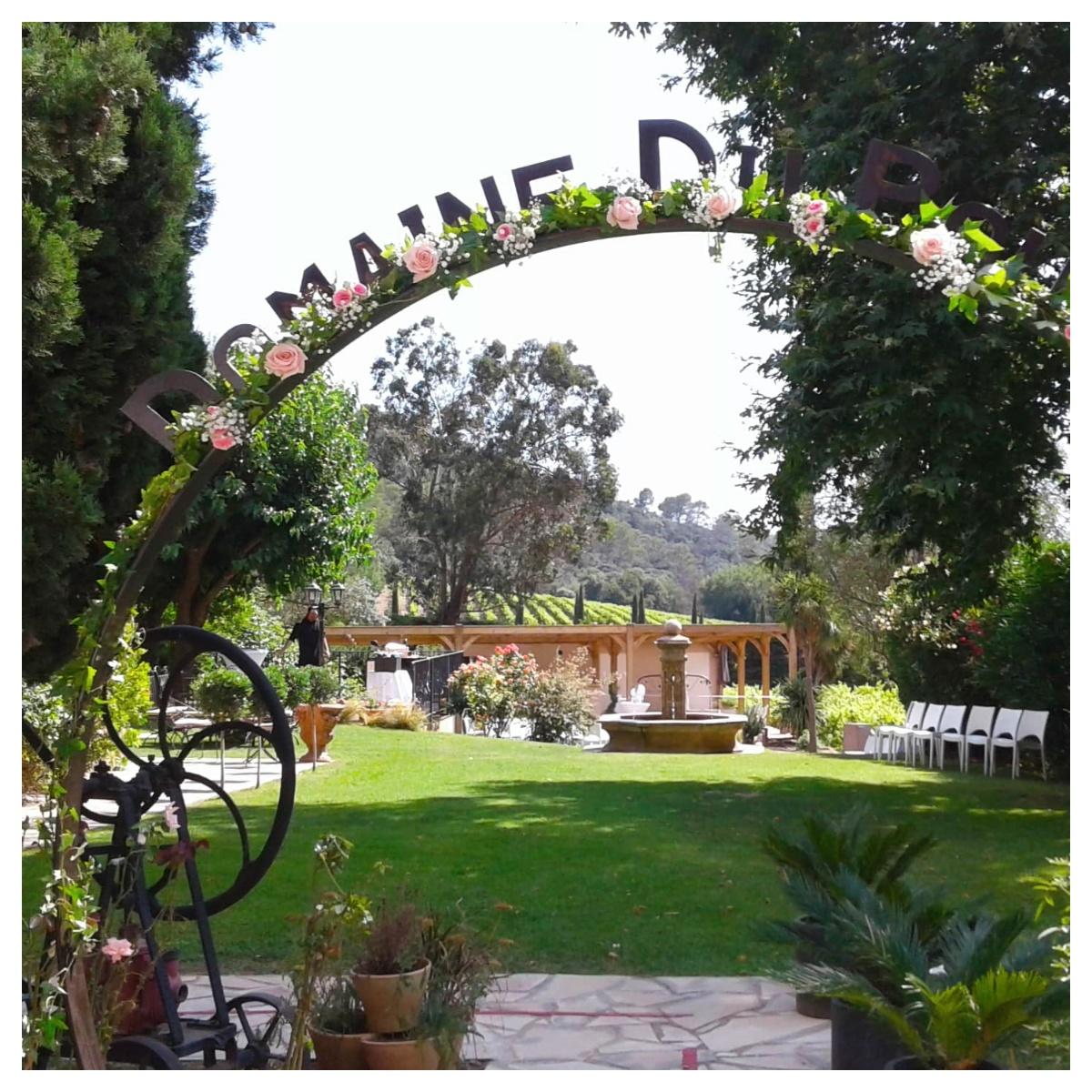 Déco jardin mariage - Azur Roses: Producteur de fleurs ...