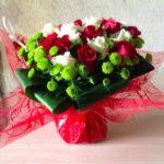 Bouquet de fleurs fraiches par Azur Roses producteur dans le Var