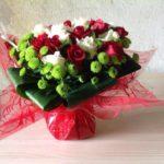 bouquet bulle fête des mères 2017 azur roses producteur var