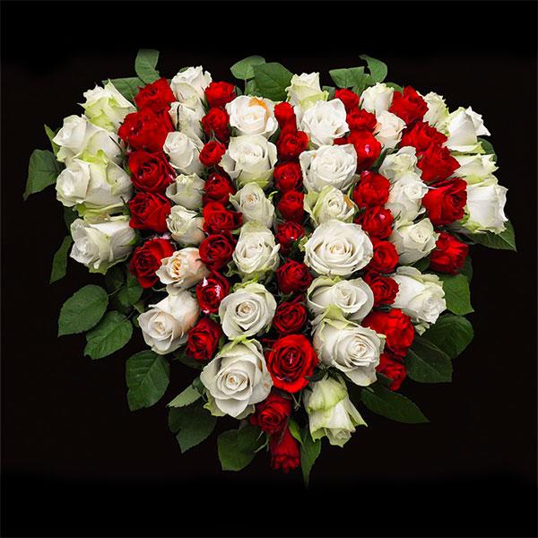 composition-fleurs-fraiches-deuil par azur-roses-la-crau-toulon-var